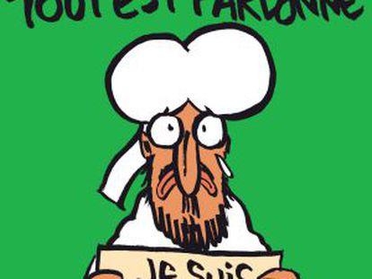 A nova capa da 'Charlie Hebdo'.