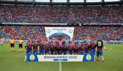 Fortaleza foi campeão brasileiro da série B em 2018.