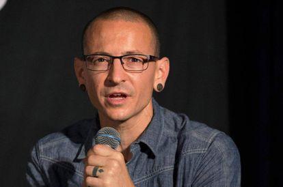 Chester Bennington, ex-vocalista do Linkin Park, em 2014.