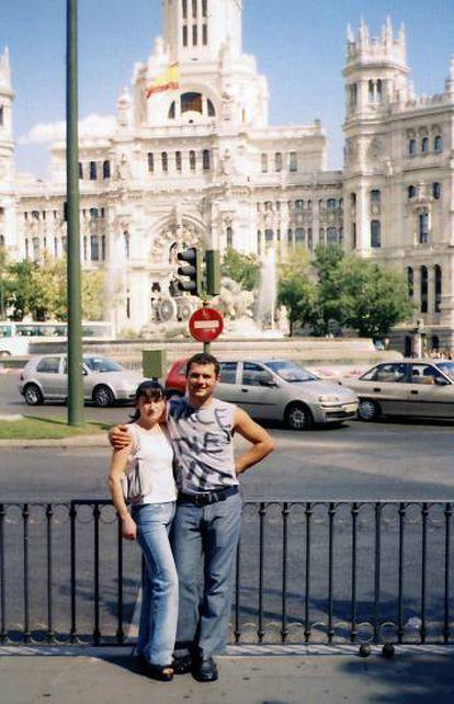 Andriyan Asenov e Kalina Dimitrova, que morreram nos atentados terroristas 11-M, em Madri.