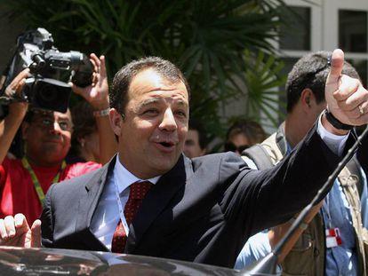O ex-governador do Rio, Sergio Cabral, em 2007.