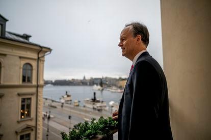 O médico norte-americano William Kaelin, fotografado em Estocolmo em dezembro de 2019.
