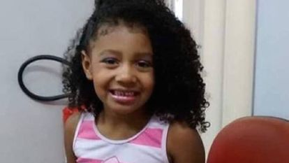 Ágatha Félix, 8 anos