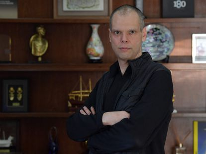 Prefeito Bruno Covas na prefeitura em janeiro deste ano.