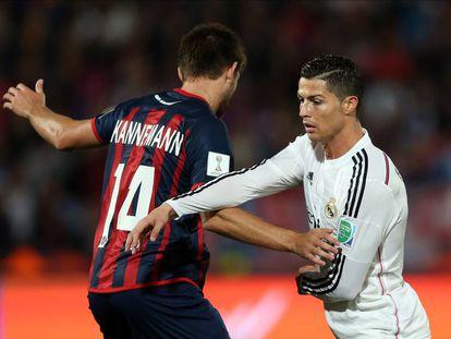 Cristiano Ronaldo, outra vez cara a cara com o 'Viking' argentino no Mundial de Clubes