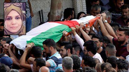 Funeral de Aisha ao Rawbi, o passado outubro.