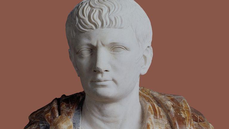 Busto presumido como uma representação do imperador Calígula, feito pelos irmãos Giovanni Battista e Nicola Bonanome por volta de 1562.