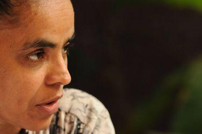 A ex-ministra do Meio Ambiente Marina Silva.