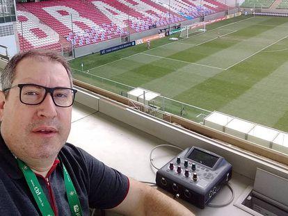 O jornalista Rafael Henzel, em uma imagem de arquivo.