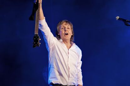 McCartney, durante um show em Chicago em julho.