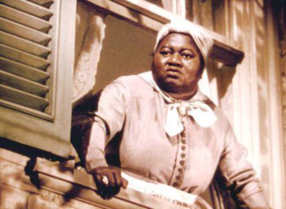 Hattie McDaniel, numa cena de 'E O Vento Levou', filme que a transformou na primeira afro-americana a ganhar um Oscar.