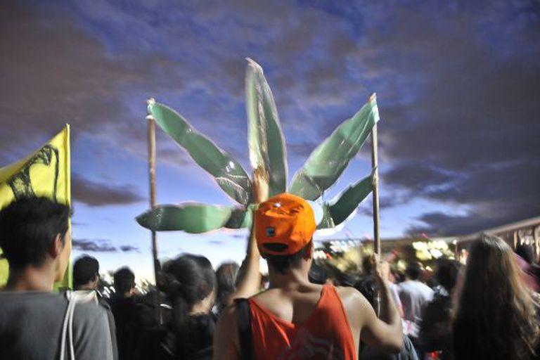 Marcha da maconha no Rio, neste ano.