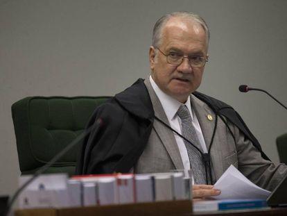 O ministro do Supremo Tribunal Federal Edson Fachin