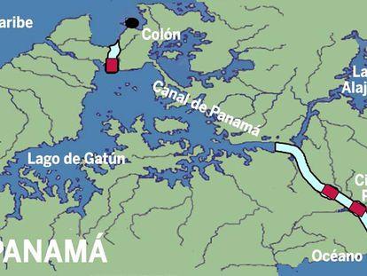 Qual é a origem da água do canal do Panamá? Não é a que você pensa