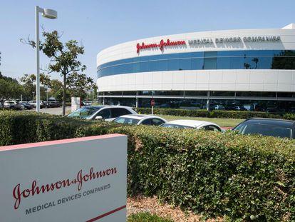 Instalações da Johnson & Johnson em Irvine (Califórnia), em foto de agosto de 2019.