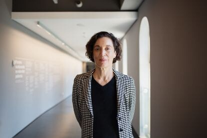 Isa Grinspum, curadora do Museu da Língua Portuguesa.