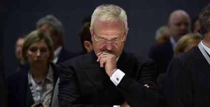 O ex-presidente da Volkswagen Martin Winterkorn, numa foto de arquivo