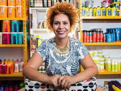Carla Carvalho, dona do Meu Cabelo Natural