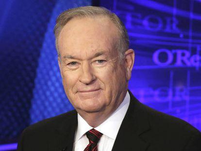 Bill O'Reilly, o apresentador mais famoso da Fox, que assediou sexualmente funcionárias.
