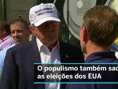 Estados Unidos medem a força nas urnas do populismo mundial
