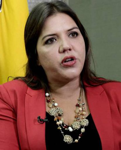 María Alejandra Vicuña.