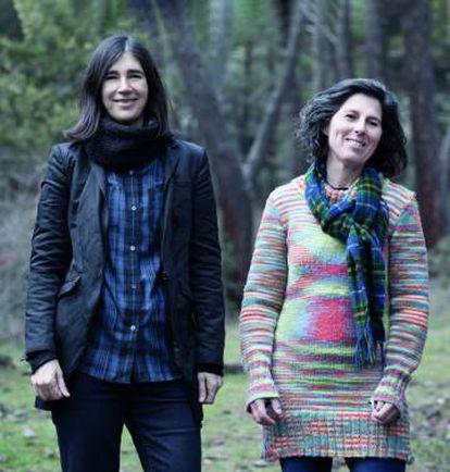 Maria Blasco e Mónica G. Salomone.