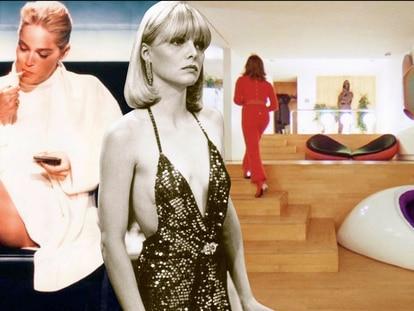 Sofás sensuais, mesinhas espelhadas e erotismo dos anos 90: 'cocaine chic' substitui estética 'millennial'