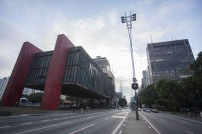 Museu de Arte de São Paulo (Masp), na avenida Paulista.