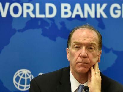 O presidente do Banco Mundial, David Malpass, numa foto de 2019.