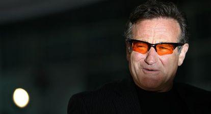 Robin Williams, na estréia de 'Licença para Casar', em 2007.