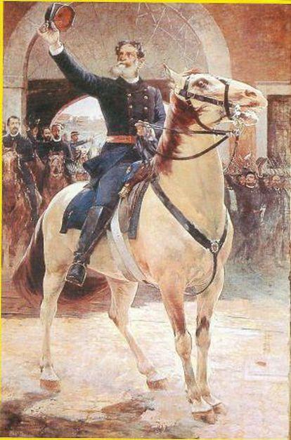 Retrato de Deodoro da Fonseca, do pintor Henrique Bernardelli.