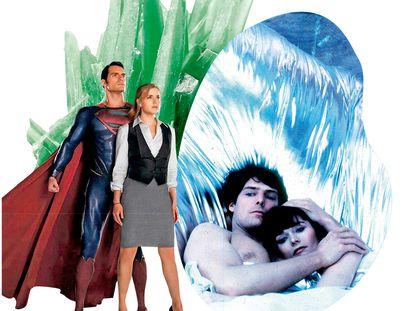 História de dois Super-Homens: o atual, que ama Lois, e o original, que além disso transou com ela.
