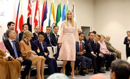 Ivanka Trump sábado passado na cúpula do G20 em Osaka, Japão.