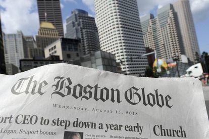 Uma instância de 'The Boston Globe' da quarta-feira.
