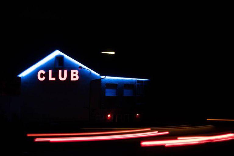 Um clube de strip-tease na Galícia, em uma imagem captada semana passada.