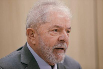 O ex-presidente Lula fala pela primeira à imprensa, em entrevista exclusiva nesta sexta-feira, na sede da PF em Curitiba.