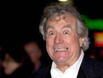 O ator britânico Terry Jones en Londres, em outubro de 2012.