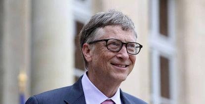 O empresário e filantropo Bill Gates.