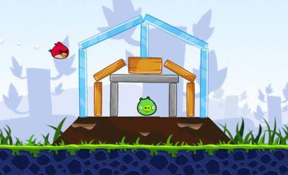 Imagem do jogo Angry Birds.