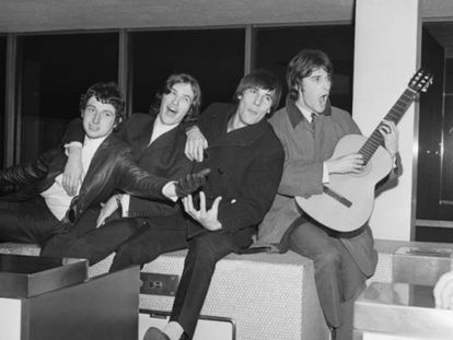 The Kinks em uma imagem de 1965.