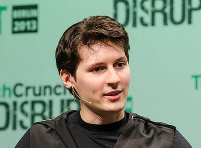 Pável Dúrov, fundador do Telegram.
