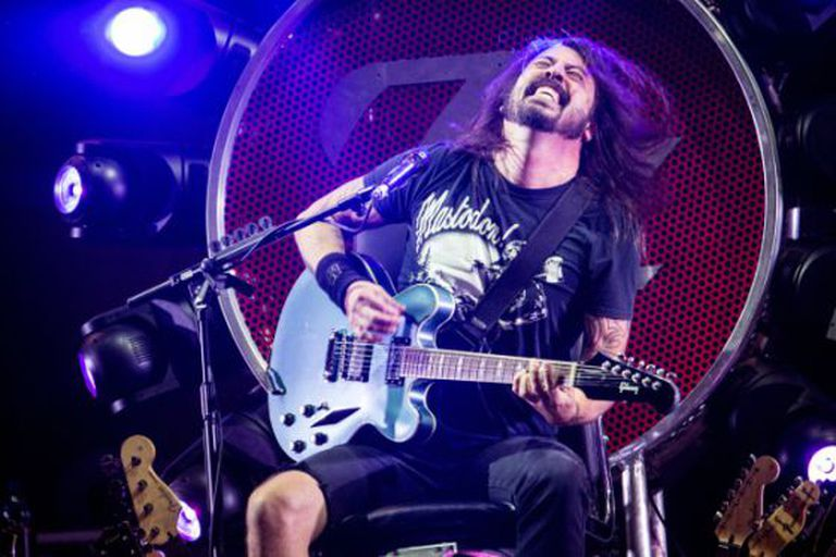 Dave Grohl, vocalista do Foo Fighters