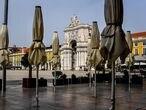 La plaza de Comercio, en Lisboa.