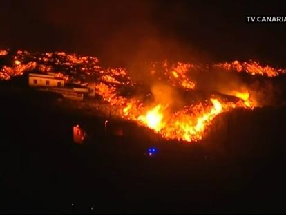 A erupção do vulcão de La Palma