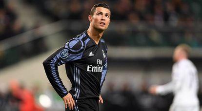 Cristiano Ronaldo, diante do Legia.