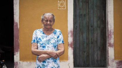 A aposentada Iraíris dos Santos Silva, 83.