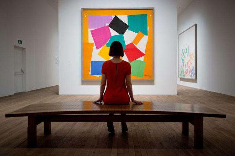 O quadro 'O Caracol', de Henri Matisse, no Tate Modern.