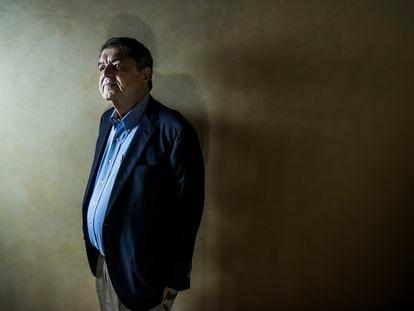 Sergio Ramírez, vencedor do prêmio Cervantes, no hotel Lusso Infantas.