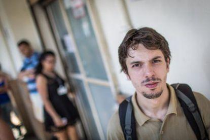 Bruno Lino, que trabalhava em loja que fechou em São Paulo.