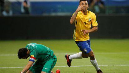 De volta ao Allianz Parque, Gabriel Jesus marca duas vezes.